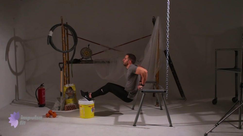-Cuerpo 10, Vídeo 14: Entrenamiento tren superior con tríceps, bíceps y hombro