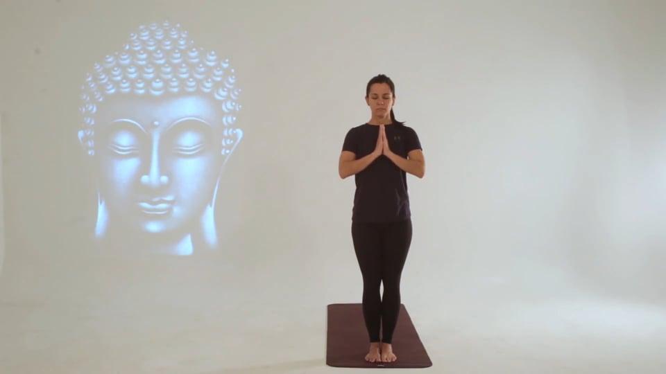 Vídeo 1: Clase iniciación al Yoga con el saludo al sol