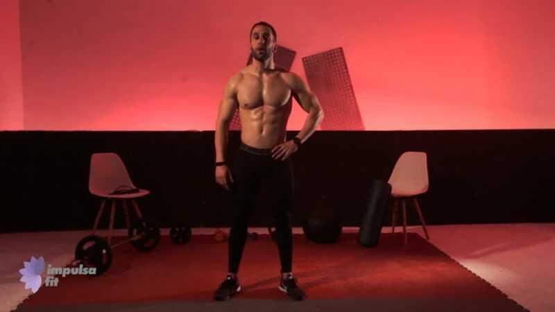 Vídeo 1: Entrenamiento Funcional en Rutina de Sentadillas, Saltos a la Comba y Laterales