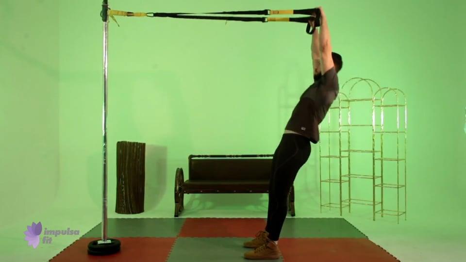 Vídeo 3: Entrenamiento en suspensión con circuito full body para tonificar