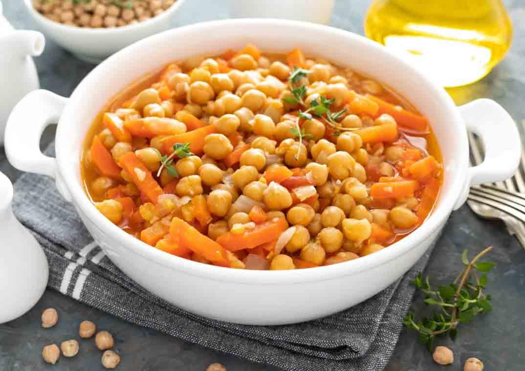 El Sabor más Exquisito del Curry Vegetariano con Garbanzos y Verduras