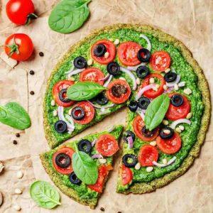 Mini pizza de calabacín