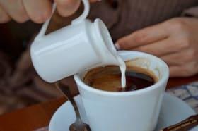 Café con leche desnatada