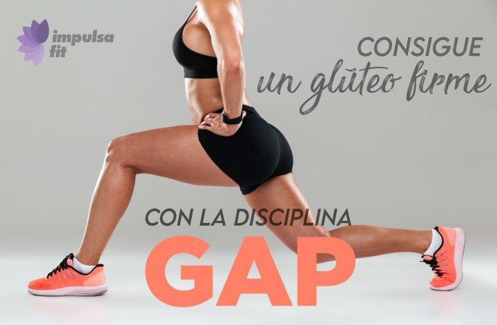 Adelgaza sanamente con la disciplina glúteo, abdomen, piernas o GAP.
