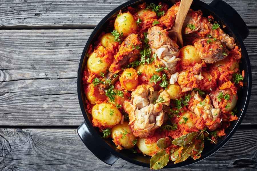 Deliciosa Merluza a la Gallega | Gastronomía Galicia