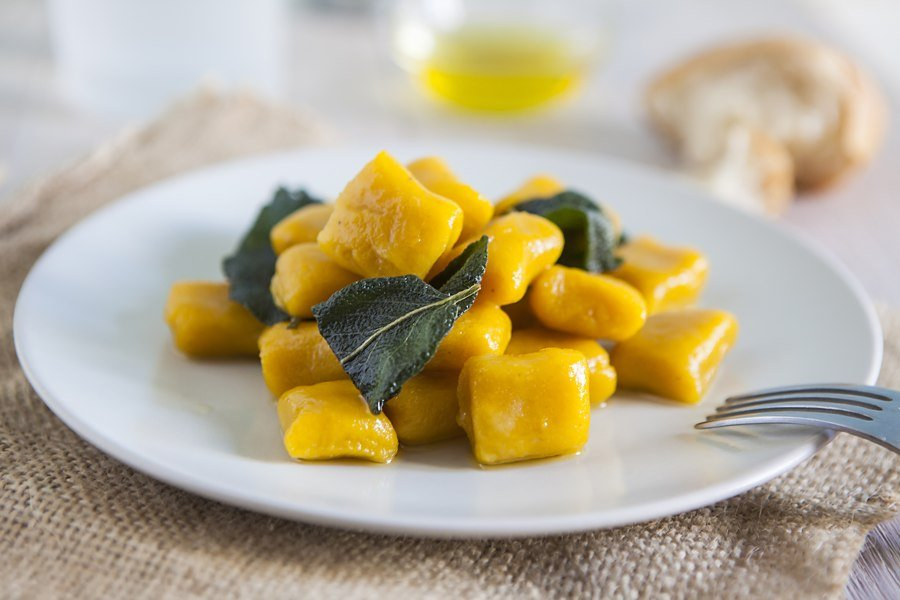 Come Saludable y Prueba los Ñoquis de Calabaza Veganos