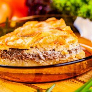 Pastel de patatas con carne picada