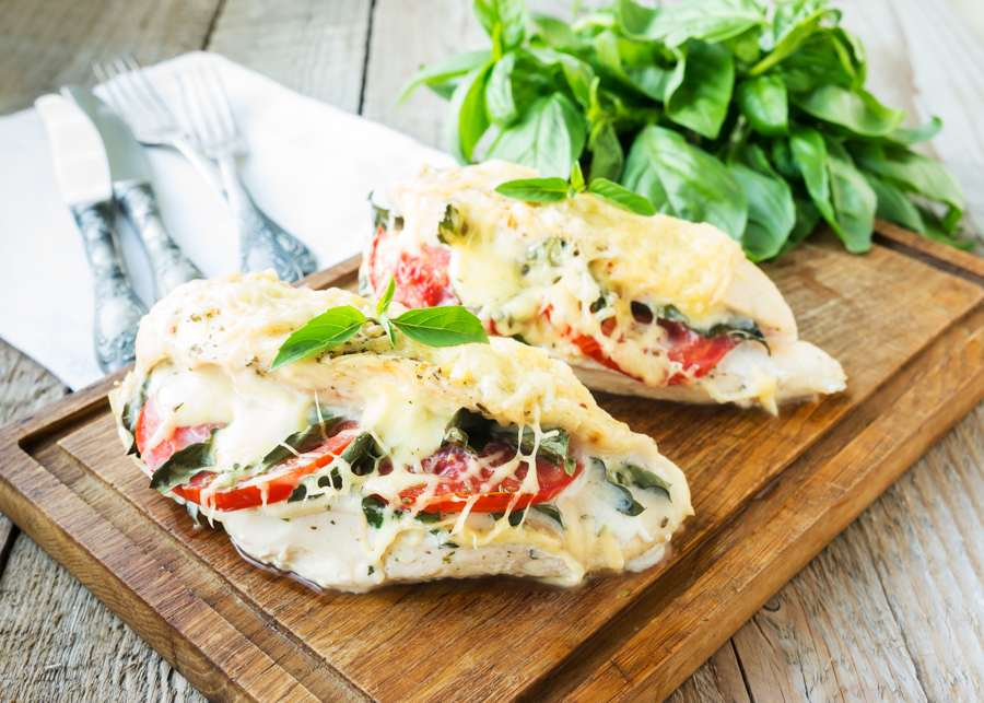 Pechuga de Pollo Rellena de Vegetales | Cocina Fitness