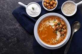 250ml de caldo de verduras con garbanzos