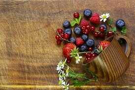Frutos rojos (40 a 70 gr.)