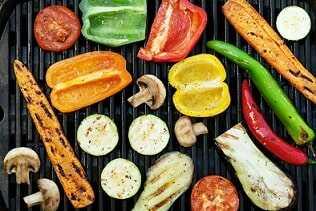 Verduras variadas a la plancha